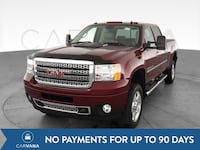 2014 GMC Sierra 2500 HD Crew Cab pickup Denali Pickup 4D 6 1/2 ft Red Petersburg