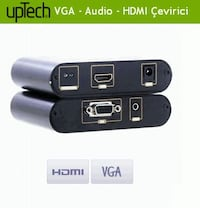 UpTech KX-1021 VGA to + Audio to HDMI Converter İstanbul, 34182