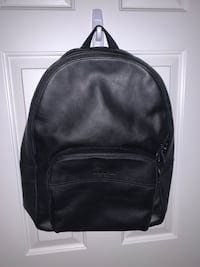 Black Leather Coach Backpack Burnaby, V5A