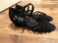 Brand New! Cute Comfortable Open-Toed West Coast Swing Dance Shoes (Black) San Francisco, 94102