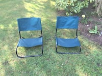 blue and black camping chair Victoria, V8P 1V6