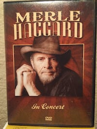Merle Haggard In Concert DVD Church Street Station, FL. Oklahoma City