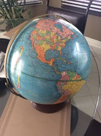 Cram's Imperial 12 inch World Globe Courtice