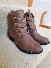 Brown Low-Cut Fall Boots - Size 6  Bowie, 20716