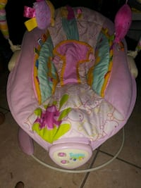 baby's pink and green bouncer Port Richey, 34668