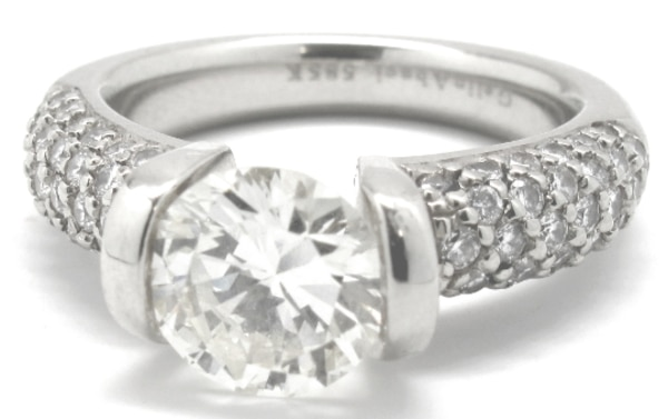 Ladies 2CT Diamond Engagement Ring 6ea67d04-4875-4418-aa05-ea41dccdd39b