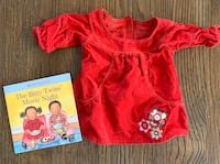 American Girl Bitty Baby skirt and book Mc Lean, 22101