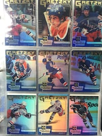 NHL card collection