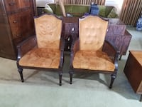 Pair of Retro Mid Century Accent Chairs Chadds Ford