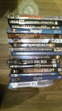 assorted Blu-ray movie 5 $ each Regina, S4R 3R5