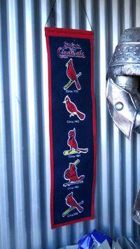 STL Cardinals wall decor Wichita