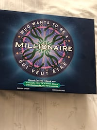Who wants to be a millionaire board game Mississauga, L5M 6V3