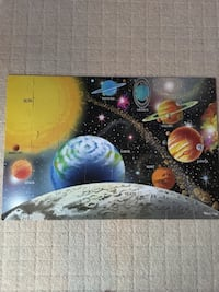 Melissa and Doug solar system puzzle Los Angeles, 90024