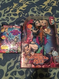 You get both- Monster high doll and dvd  High Point, 27260