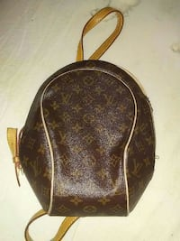 brown and black Louis Vuitton leather backpack Burnaby, V5C