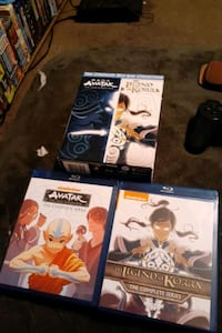 2 brand new blue ray DVD box sets of the avatar complete series  Belmont, 28012