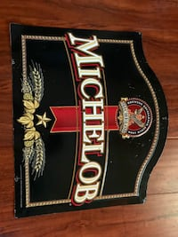 Vintage Michelob beer Metal sign Henderson, 89012