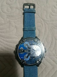 Watch with jean strap