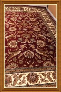 Turkish area rug size 8x11 nice red carpet Persian style rugs and carpets  Burke, 22015