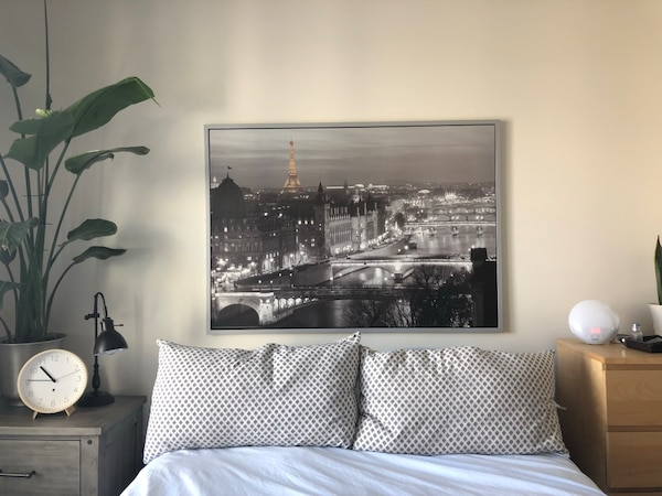 Ikea Paris At Night Framed Wall Art