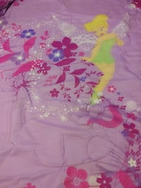 Twin size reversible Tinkerbell comforter great sh Hamilton, 62341