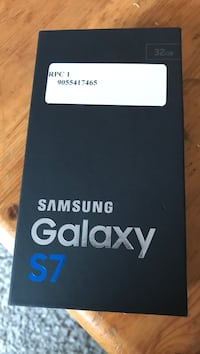 Samsung Galaxy S7 Edge box ( sealed )  Toronto, M5A 3A8