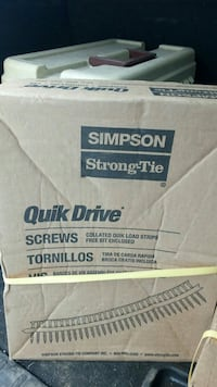 2 boxes quick drive screws  Edmonton, T5A