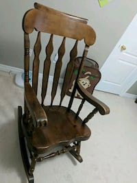 brown and black wooden rocking chair Oakville, L6M 4Z1