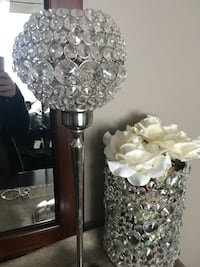 Crystal candle holders 75 for both  Vaughan, L6A 2S2