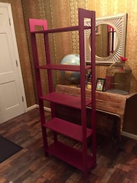Refinished Display/book Shelf in Juneberry Charlotte, 28227