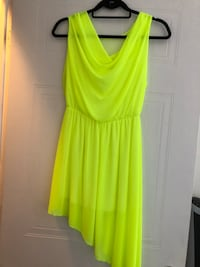women's yellow sleeveless dress Saint-Eustache, J7P