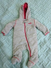 Puma 3-6 m baby thick winter suit, new condition