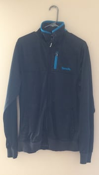 Blue and black Bench zip up jacket