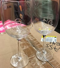clear glass wine glasses Gaithersburg, 20877