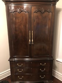 Brown wooden cabinet with drawer New Providence, 07901