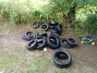 Tires all sizes all good shape Wichita, 67216