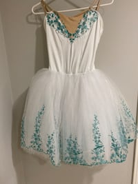 white dress with tutu