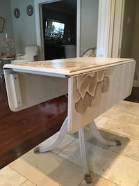 educed*Hand Painted Shabby Chic Rectangular Breakfast Table Toronto