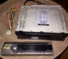 Alpine CDM 9821 CD Player In Dash Receiver with RCA outputs