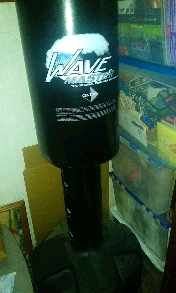 Used Wave Master Freestanding Heavy Punching Bag For Sale In Reading