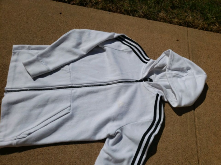 Photo White Adidas Jacket