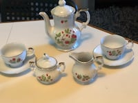 1950's Mini Porcelain Tea/Coffee set, 9 pcs Fort Washington, 20744