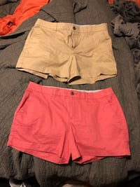 women's pink and brown shorts Shepherdsville, 40165