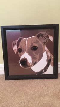 Jack Russell terrier painting wall art Richmond Hill, L4B