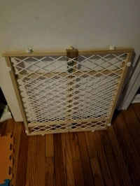 brown wooden safety gate Shaker Heights, 44122