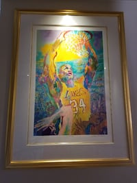 Shaquille O'neal LA Lakers painting