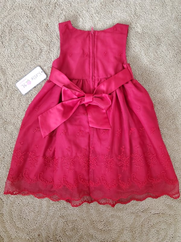 Red toddler girl dress (size 3T) 39914924-a173-4873-a4f9-4ceb81764ed8