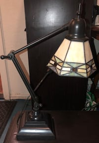 Black and gray table lamp 1953 mi