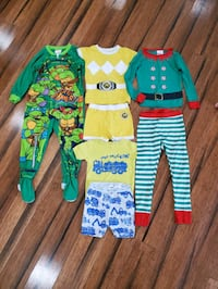 Boys 4T pjs lot, $3 for all