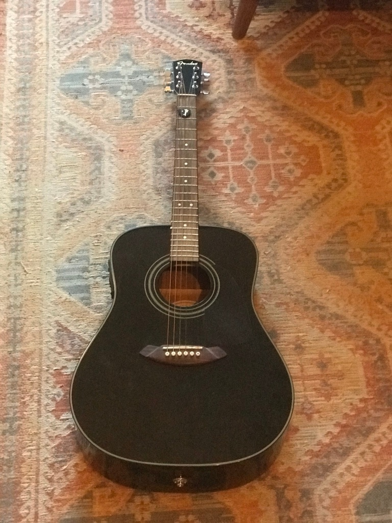 Photo Fender CD-110e Electric Acoustic Guitar
